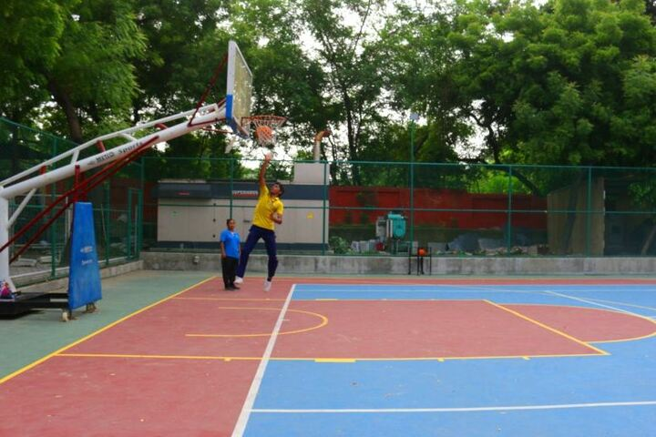 Seth M R Jaipuria School-Basket Ball Court