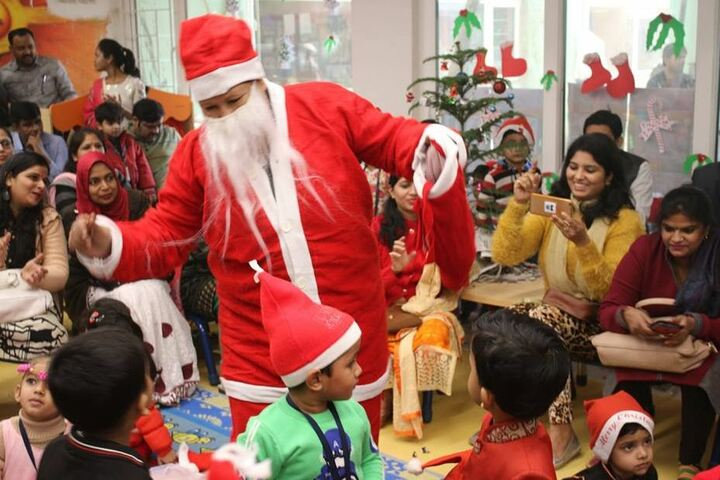 Seth M R Jaipuria School-Christmas Celebrations