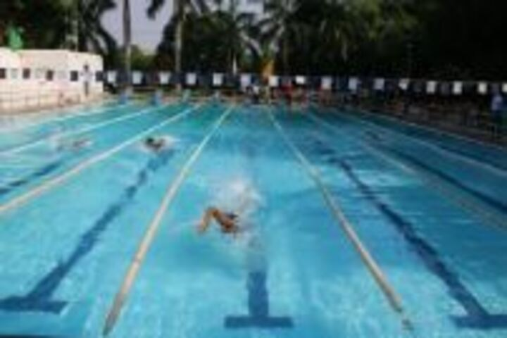Seth M R Jaipuria School-Swimming Pool