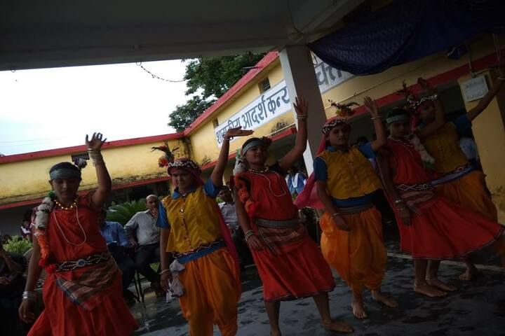 Govt Girls Higher Sec School Durg-Dance