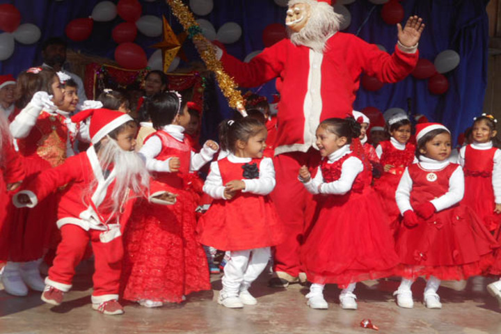 Dominic Savio English Medium School-Christmas Celebrations