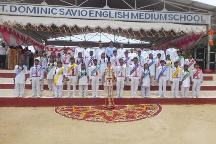 Dominic Savio English Medium School-Investiture Ceremony