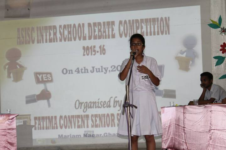 Fatima Convent School-Speech