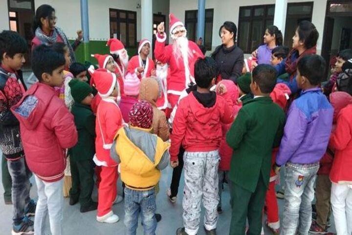 Seth Dwarka Prasad Bajaj Education Center-Christmas Celebrations
