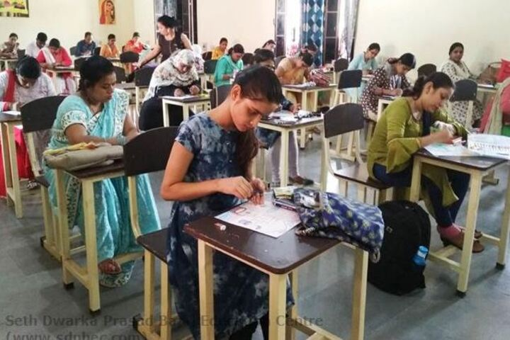 Seth Dwarka Prasad Bajaj Education Center-Drawing