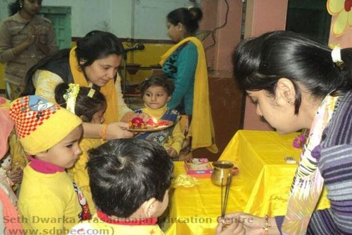 Seth Dwarka Prasad Bajaj Education Center-Festival Celebrations
