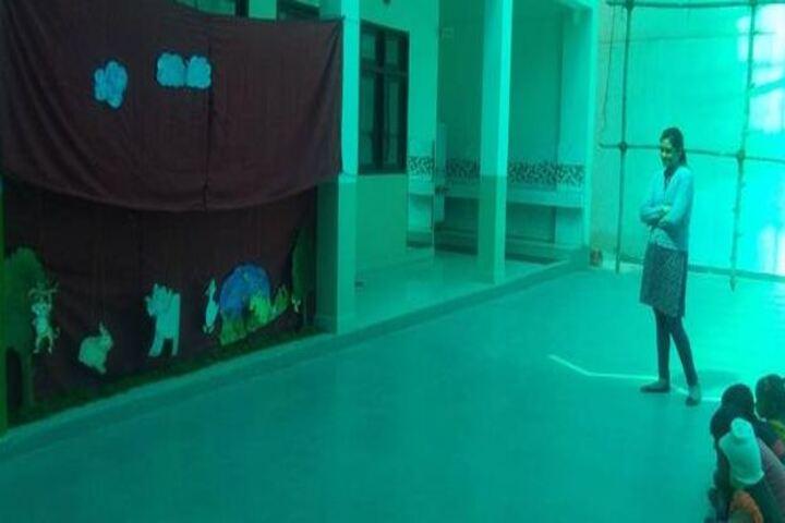 Seth Dwarka Prasad Bajaj Education Center-Puppet Show