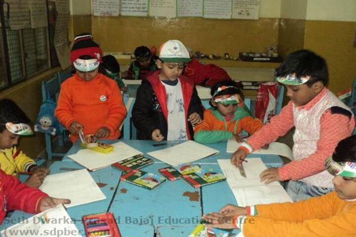 Seth Dwarka Prasad Bajaj Education Center-Republic Day Celebrations
