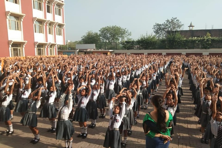 Mother Teresa Mission Higher Secondary School-Yoga