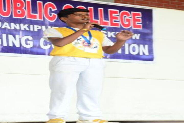 Lucknow Public College-Speech