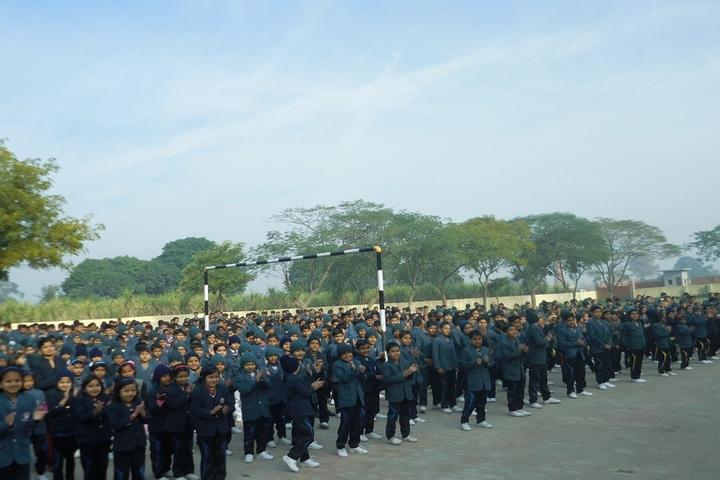 Christu Jyothi Convent Senior Secondary School-Morning Assembly