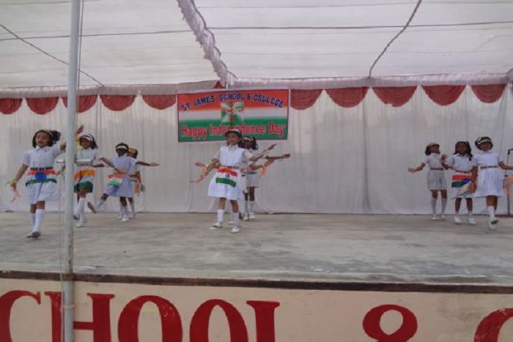 St James School-Independence Day