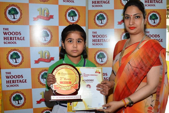 The Woods Heritage School-Felicitation