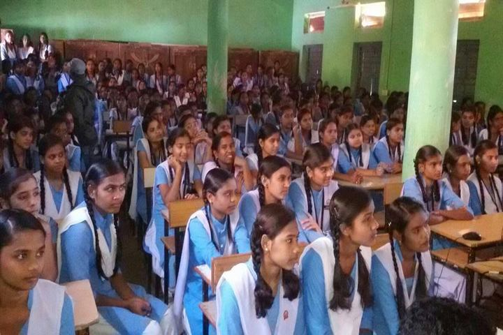 Govt Girls Higher Sec School Raipur-Students
