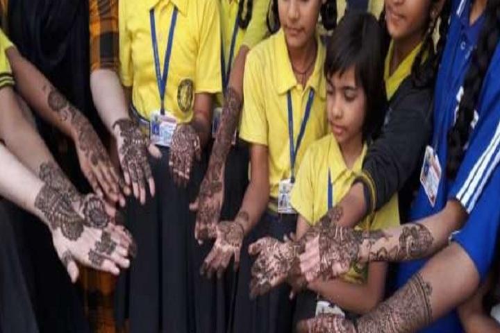 Sai Girls Public School-Mehendi Competition