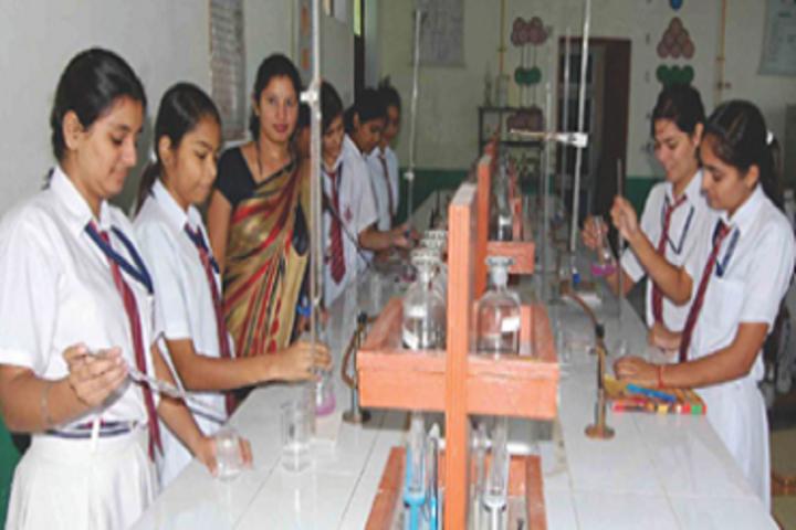 Creathics Public School-Chemistry Lab