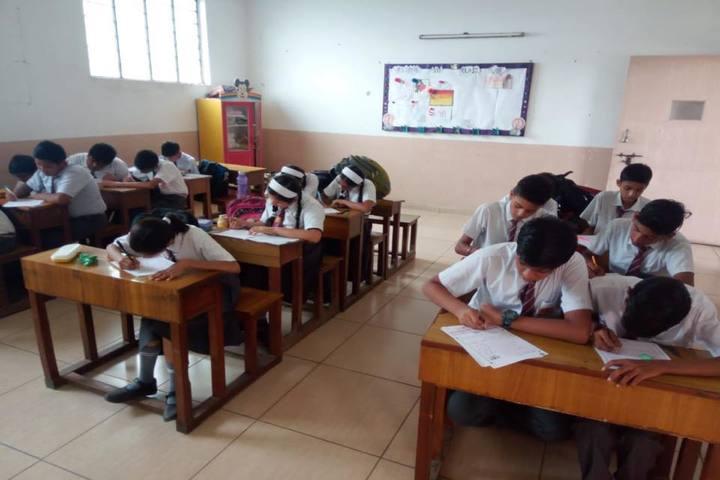 Creathics Public School-Classroom