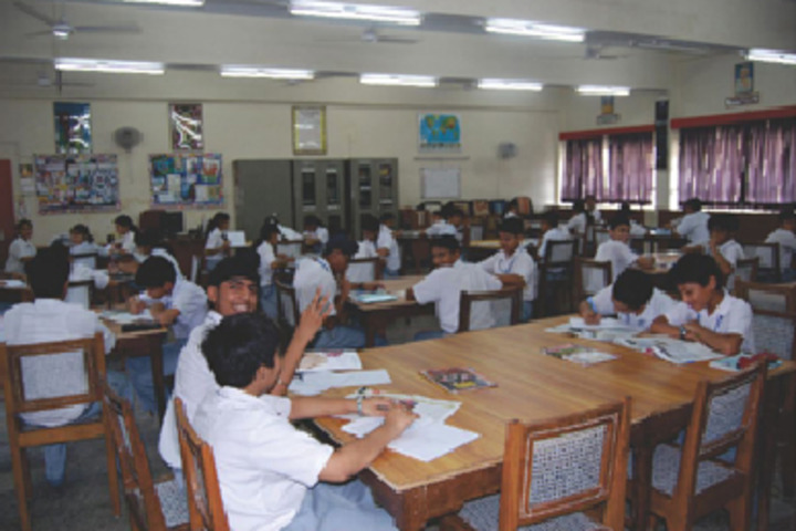 Creathics Public School-Libray