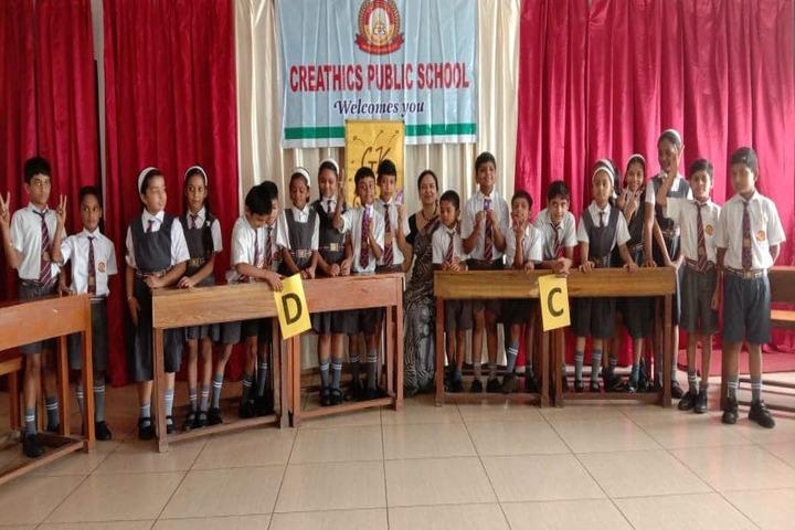 Creathics Public School-Quiz Competition