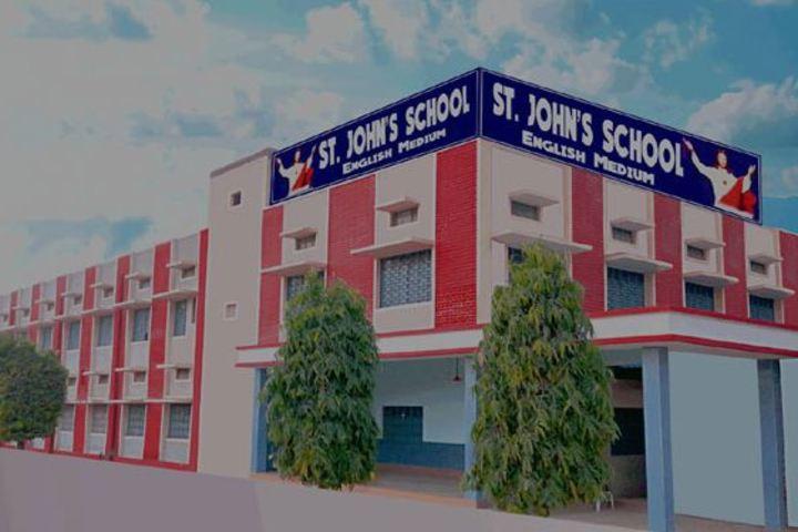 St Johns School - School Building