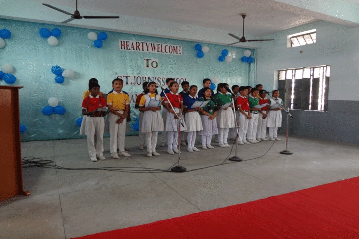 St Johns School - Singing