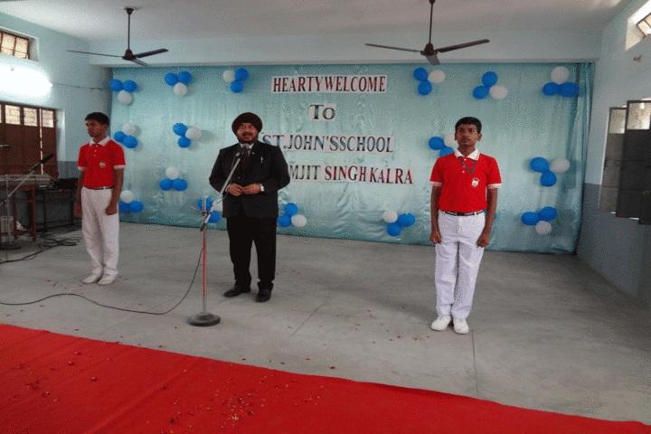 St Johns School - Speech
