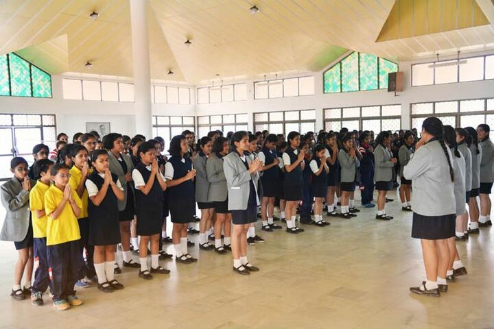Ashok Hall Girls Residential School-Assembly