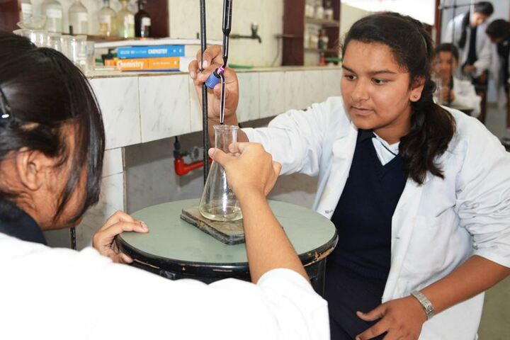 Ashok Hall Girls Residential School-Chemistry Lab