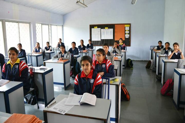 Ashok Hall Girls Residential School-Classroom
