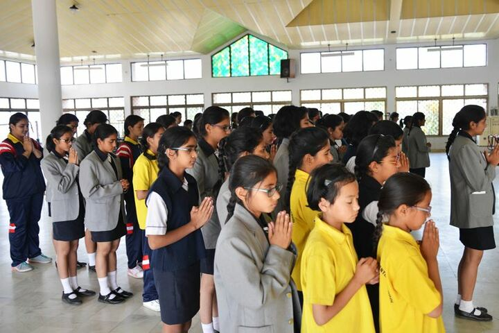 Ashok Hall Girls Residential School-Prayer