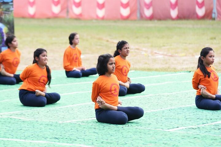 Ashok Hall Girls Residential School-Yoga