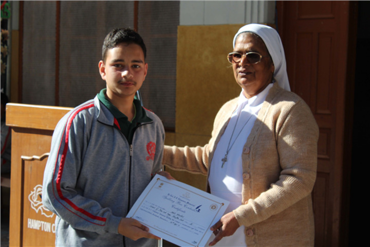 Convent Of Jesus And Mary-Certification