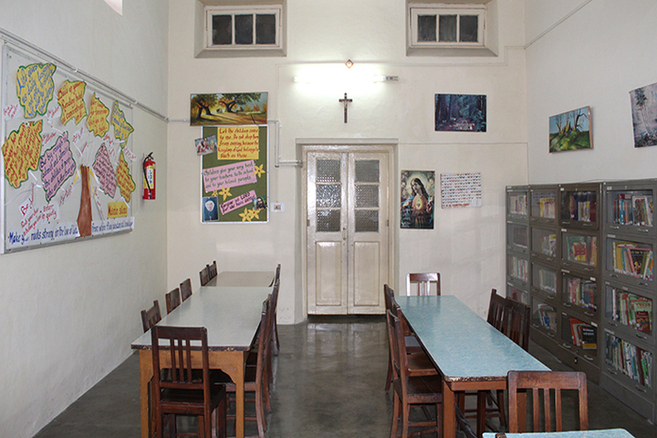 Convent Of Jesus And Mary-Library