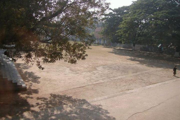 Auxilium Convent School-Play Ground