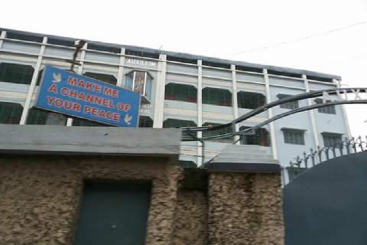 Auxilium Convent School-Entrance