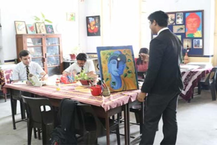 La Martiniere For Boys-Art Room
