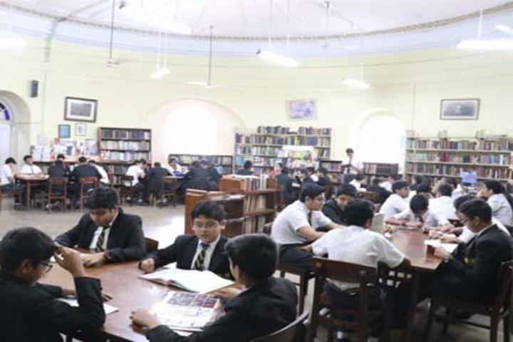 La Martiniere For Boys-Library