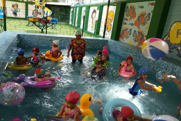 Pratt Memorial School-Pool Fun