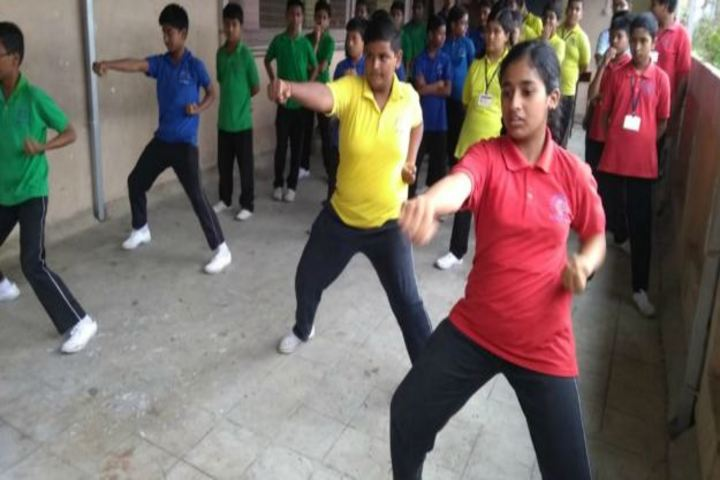 Sri Ram Narayan Singh Memorial High School-Karate