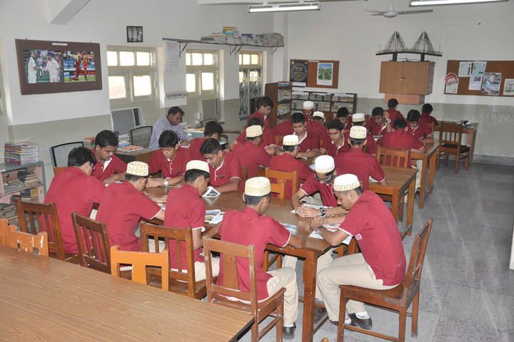 Saifee Golden Jubliee English Public School-Library