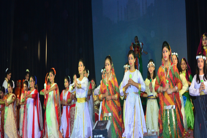 Sri Aurobindo Institute Of Education-Dance Performance