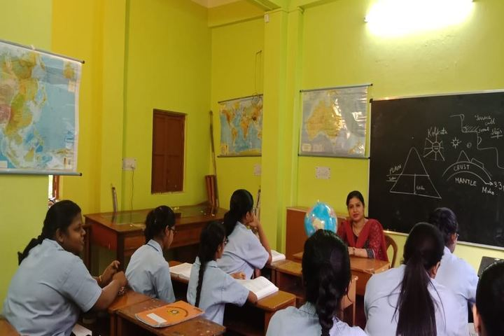 Mansur Habibullah Memorial School-Geography Lab