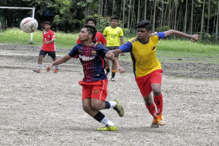 G  D  Birla Centre For Education-Football Competition