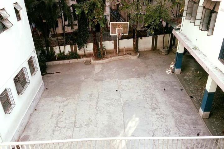 Hirendra Leela Patranavis School-Basket Ball Court