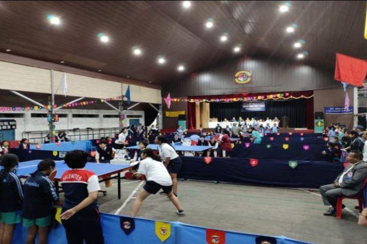 Mount Hermon School-Table Tennis