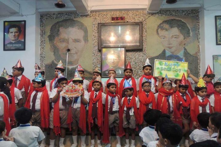 Don Bosco School-Birthday Celebration