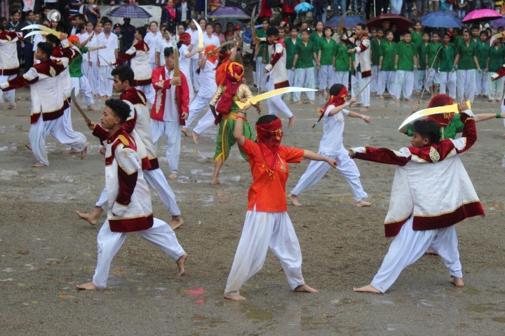 Himali Boarding School-Independence Day Celebration