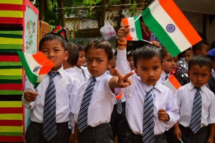 Lewis English School-Independence Day