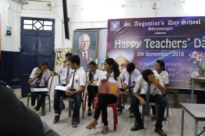 St Augustines Day School-Teachers Day