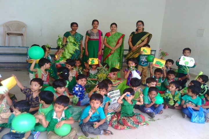 JSM Public School - Green day